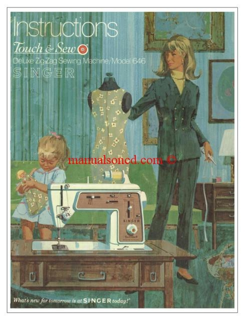 sewing machine users manual elgin