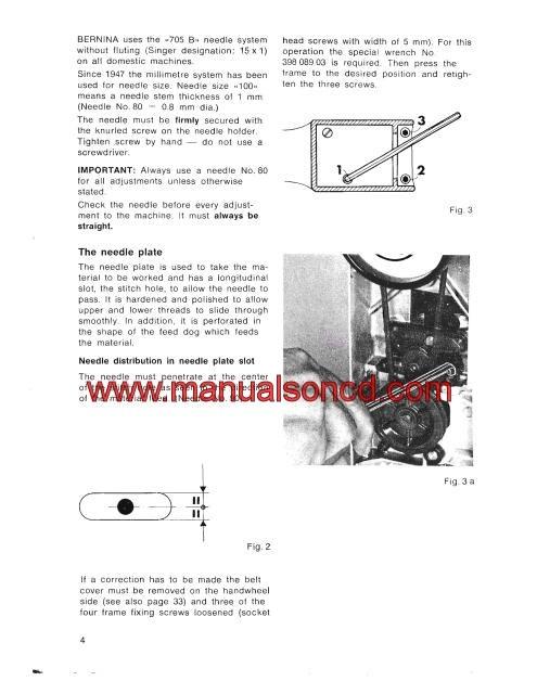 bernina record 830 manual pdf free