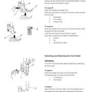 Janome 6500P Sewing Machine Instruction Manual