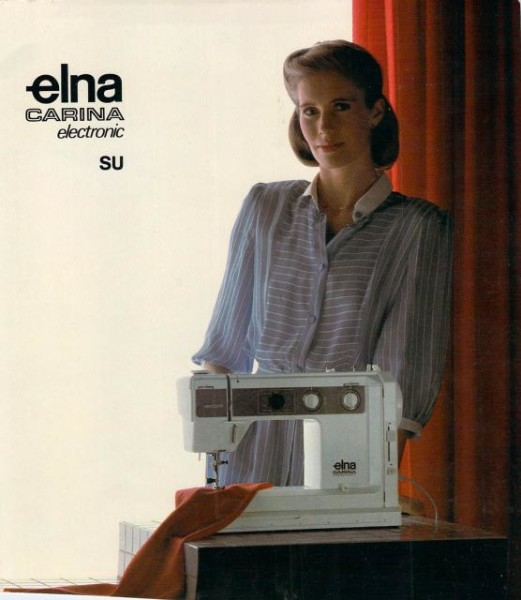 Elna Carina Electronic SU Sewing Machine Manual