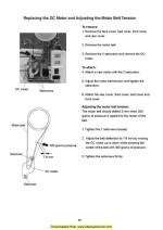 Necchi EC100 Sewing Machine Service Manual