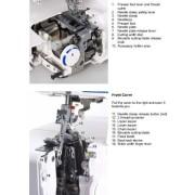 Elna 745 Serger Sewing Machine Instruction Manual