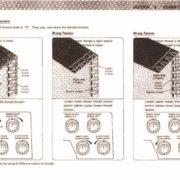 Janome 134D Sewing Machine Instruction Manual