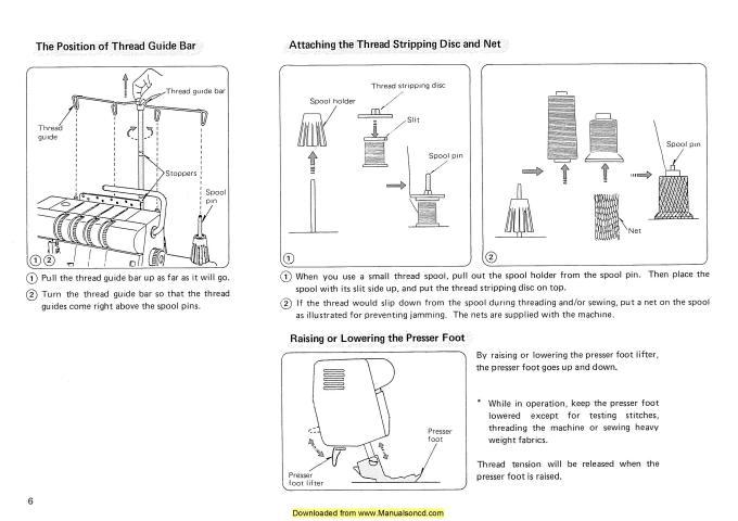 janome hf107 sewing machine manual