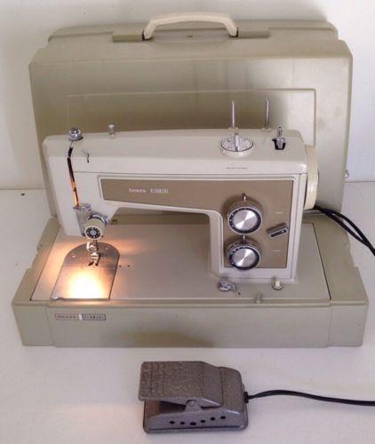 Kenmore 158.13200 Sewing Machine Instruction Manual