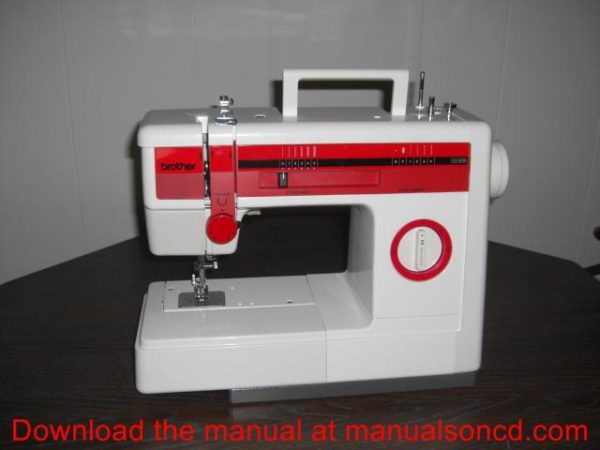 Brother VX808 Sewing Machine Instruction Manual