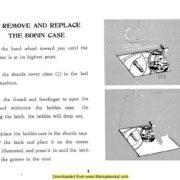 Janome 102 Sewing Machine Instruction Manual
