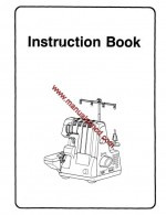 Euro Pro 14533 - 534DX Sewing Machine Instruction Manual