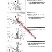 Singer 9134 Sewing Machine Instruction Manual