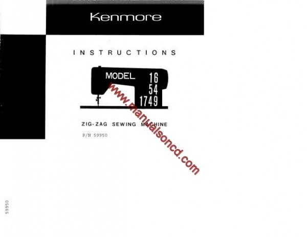 kenmore sewing machine model 158 parts
