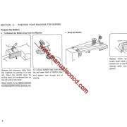 Kenmore Model 1158 And 1168 Sewing Machine Instruction Manual