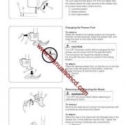 Elna 2600 - 2800 Sewing Machine Instruction Manual