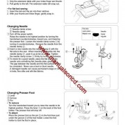 Kenmore Model 385.15516 Sewing Machine Manual