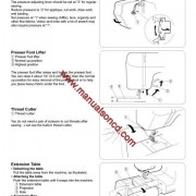 Kenmore Model 385.16528000 Sewing Machine Instruction Manual