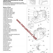 Kenmore Model 385.16130200 Sewing Machine Instruction Manual