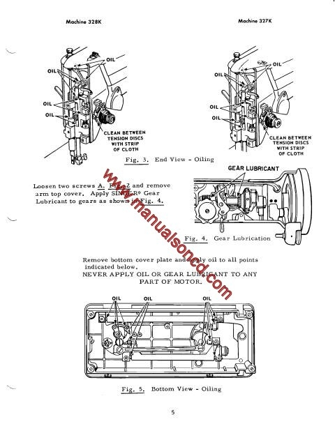 singer 327k and 328k sewing machine service manual 65 pontiac wiring diagram