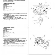 Sears Kenmore Model 385.16120200 Sewing Machine Instruction Manual