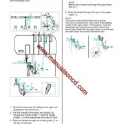 Brother 4234DT Sewing Machine Instruction Manual Overlock Machine