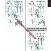Brother 5234 Sewing Machine Instruction Manual Overlock Machine
