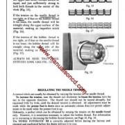 Morse 4300 Zig Zag Sewing Machine Instruction Manual Fotomatic III