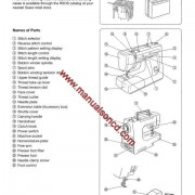 Kenmore Model 385.12216 Sewing Machine Manual 12216