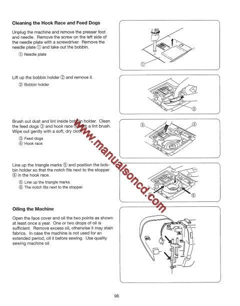 Kenmore 385 Sewing Machine Instruction Manual