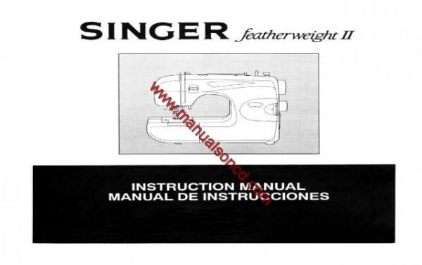 Singer Featherweight II Sewing Machine Manual, Models 117, 118