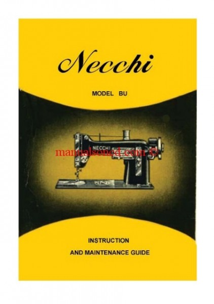 necchi bu sewing machine