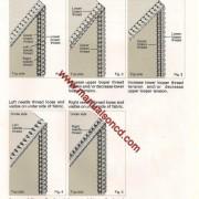 HuskyLock 340D Serger Sewing Manual Instruction Manual