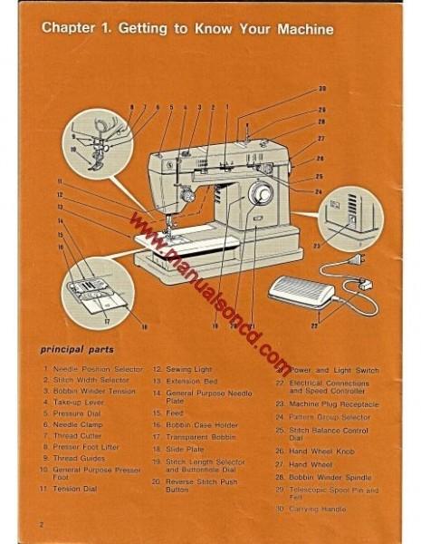 singer zigzag sewing machine