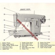 Kenmore 1204 Sewing Machine Instruction Manual