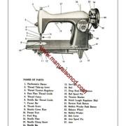 new home sewing machine manual model 108