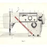 Stradivaro Model 5600 Sewing Machine Instruction Manual