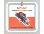 Singer Zigzagger Sewing Machine Manual 15, 201, 221, 301, 1200