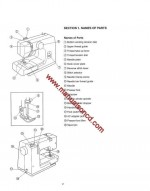 Kenmore 385.11703700 Sewing Machine Instruction Manual