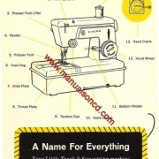 Singer Little Touch And Sew Sewing Machine Manual