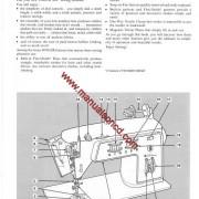 Singer 744 Sewing Machine Instruction Manual