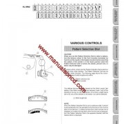 Singer XL6562 Sewing Machine Instruction Manual