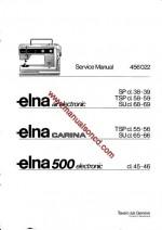 Elna Air Electronic - Carina - Elna 500 Sewing Machine Service Manual