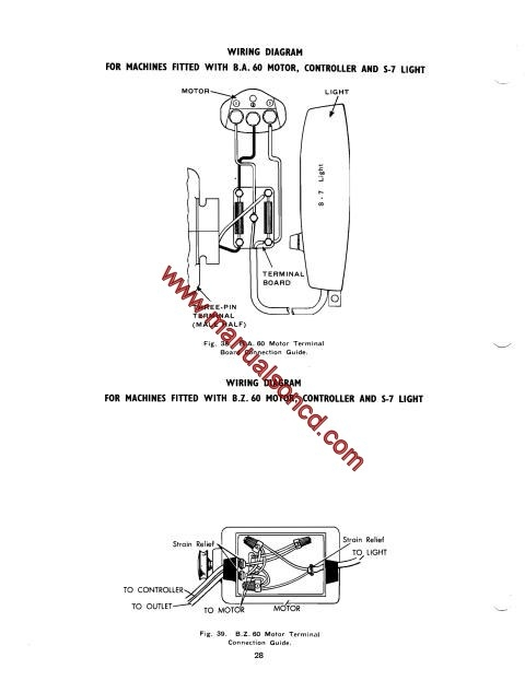 singer 193m  194m  227m  228m sewing machine service manual Service Station Manual Book