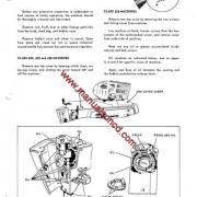 Singer 626 Sewing Machine Service Manual