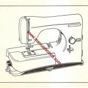 Necchi Lydia 3 544 and 542 Sewing Machine Service Manual