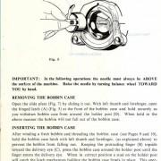 Morse 4400 Sewing Machine Instruction Manual