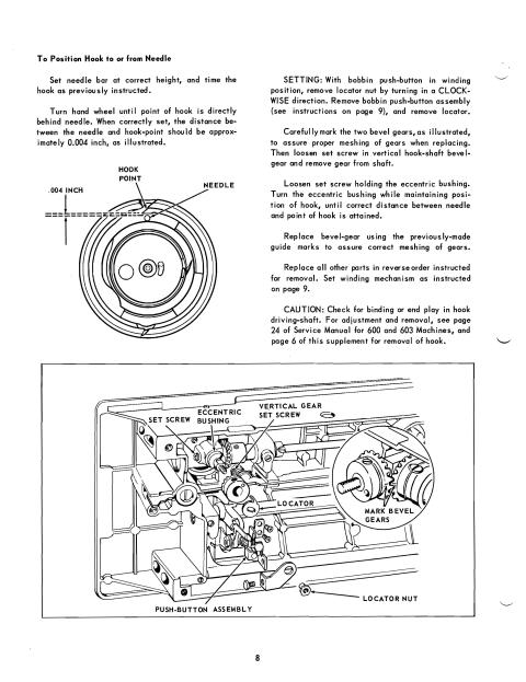 singer 628 sewing machine service manual