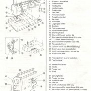 Elna 3210 and 3230 Sewing Machine Instruction Manual