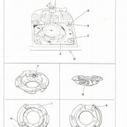 Singer 1030 and 1036E Service Sewing Machine Manual