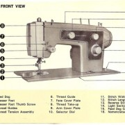 Kenmore 158.1303 Sewing Machine Instruction Manual