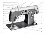 Pfaff 139 Treadle or Electric Sewing Machine Instruction Manual