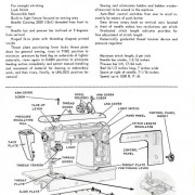 Singer 629 and 604 Sewing Machine Service Manual
