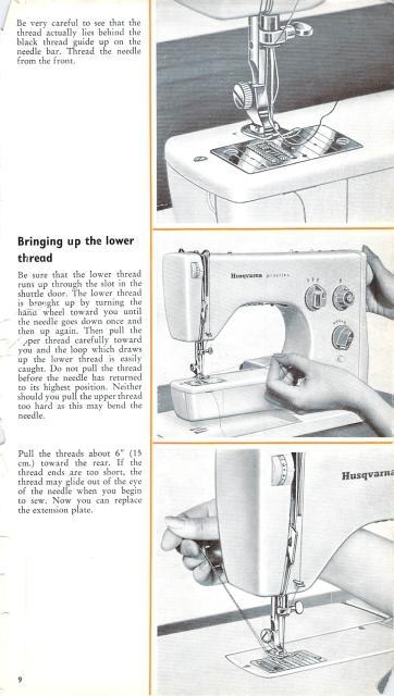viking 3000 series sewing machine instruction manual